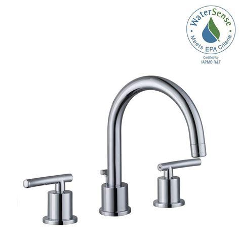 Glacier Bay Widespread 2 Handle High Arc Bathroom Faucet Glacier Bay Bathroom Fixtures