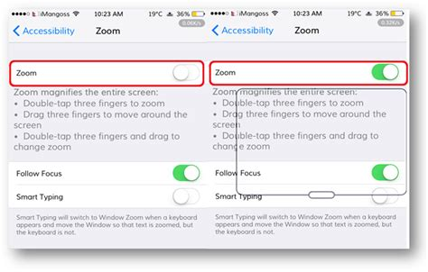 how to fix if your iphone stuck in zoom mode