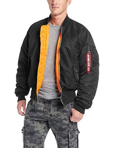 Bomber Jacket Hitam Cokelat Abu Navy alpha industries s ma 1 flight bomber jacket black medium apparel in the uae see prices
