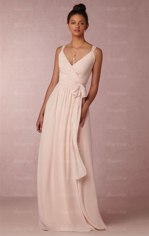 pink designer wedding dresses designer light pink bridesmaid dress bnnde0000