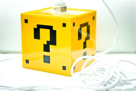 Mario Question Block L by Unavailable Listing On Etsy
