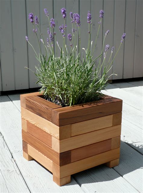 wooden plant holders stands  woodz