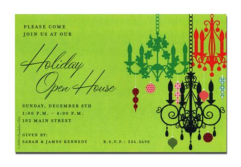 open house invitation wording christmas open house invitations christmas open house invitations for special events