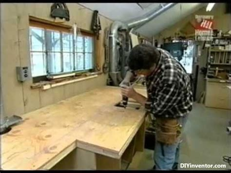 new yankee workshop miter bench part 1 of 2 how to build miter saw bench w storage