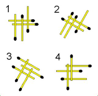 matchstick pattern questions odd one out matchstick puzzle genius puzzles
