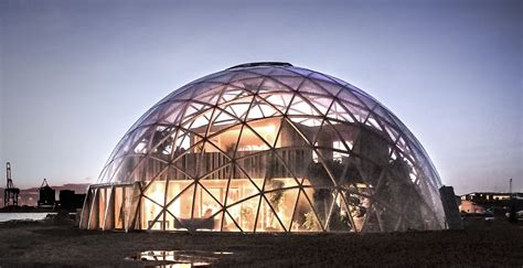 Dome For spectacular dome of visions greenhouse pushes the