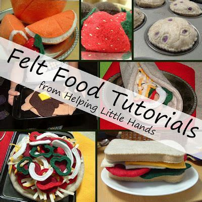 Fabulous Things In Felt by Play Food Picmia