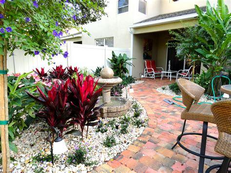 Courtyard Landscaping Ideas Florida Landscape Design Ideas Courtyard Features Construction Landscape