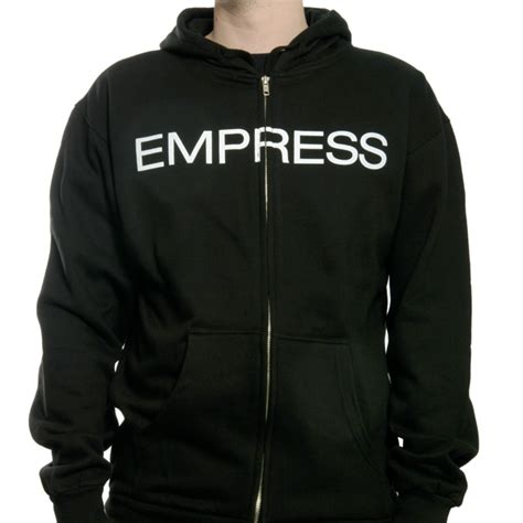 Sweater Hoodie Ryse Of Rome Front Logo holy empire quot empress quot zip hoodie holy empire