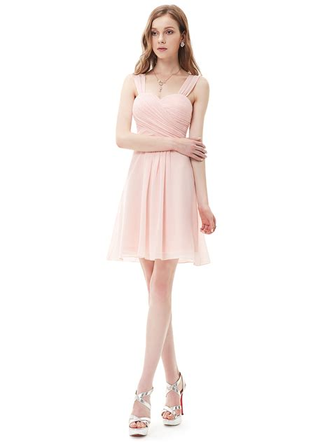 ever pretty short bridesmaid evening formal dresses party