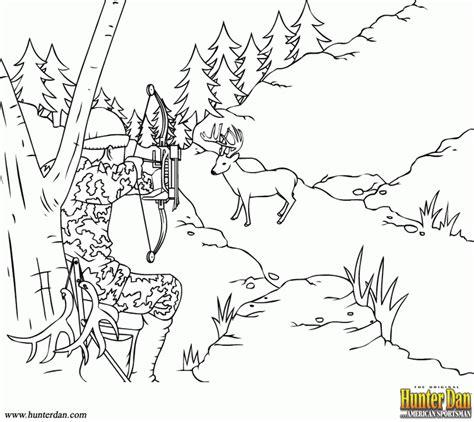 free printable coloring pages deer hunting hunting coloring page coloring home