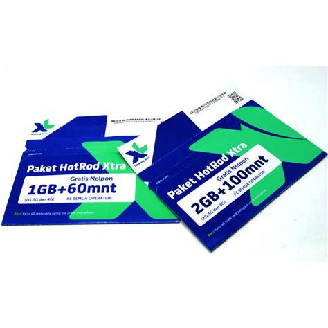 Kartu Perdana Xl 240gb kartu perdana xl hotrod xtra kuota 2gb 100 menit all operator sudah aktif