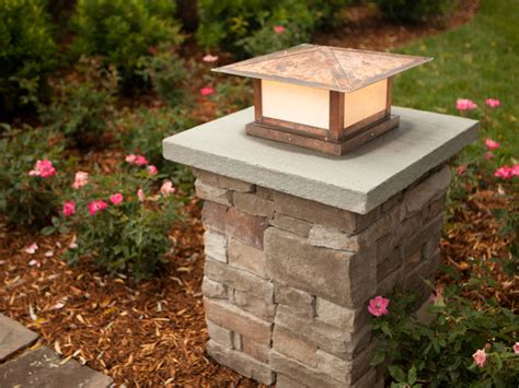 Patio Pillar Lights Columns Front Porch Columns And Porch Columns On