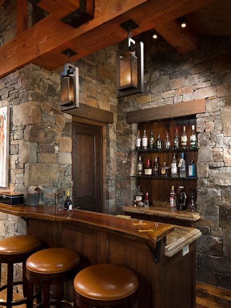 rustic home bar design ideas pictures remodel decor