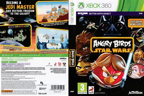 Bd Ps4 Angry Birds Starwars Bnib angry birds wars dvd cover 2013 pal xbox 360
