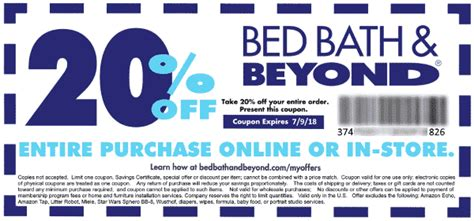 bed bath beyond 20 off entire purchase lowes coupon codes online lowes promo codes myjibe