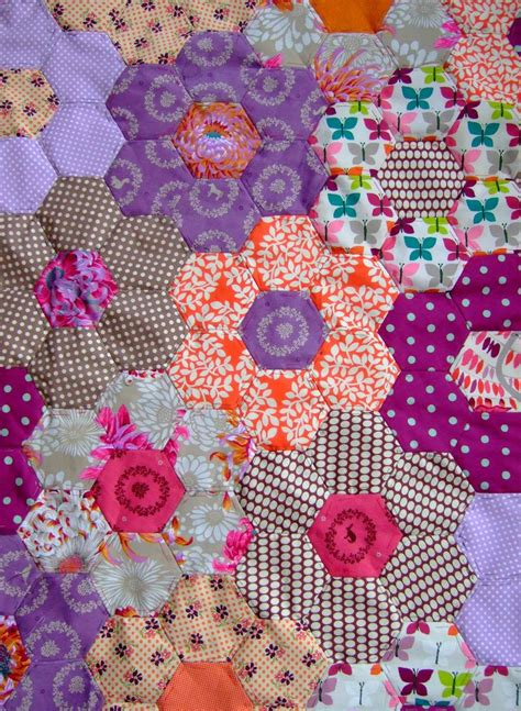 hexagon flower pattern quilt 464 best images about quilts grandmother s flower garden