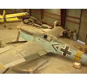 Barn Find Messerschmitt BF 109