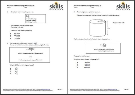 Functional Math Worksheets by Functional Skills Maths Worksheets Functional Skills