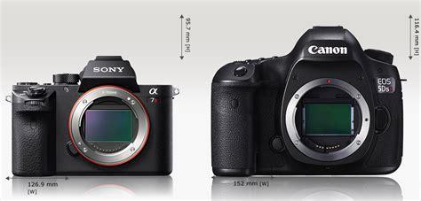 Kamera Sony A7r Mk Ii sony a7r mk ii vs canon 5ds r