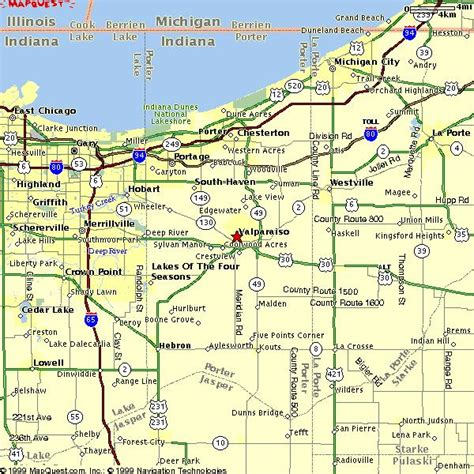 Search My County Indiana Northwest Indiana Map My