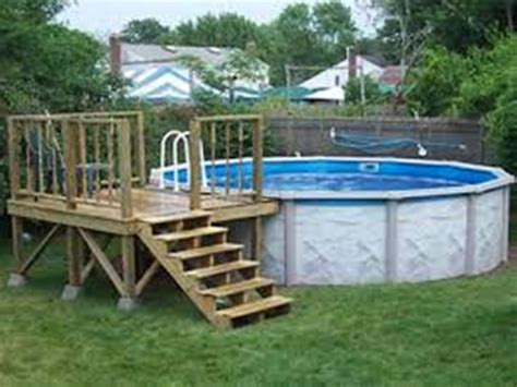 Pool Deck Plans by Pool Lowes Deck Planner Oval Pool With Deck Above