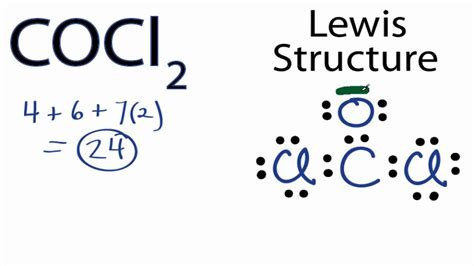 Lewis Structure Drawer by Cocl2 Lewis Structure How To Draw The Lewis Structure For Cocl2
