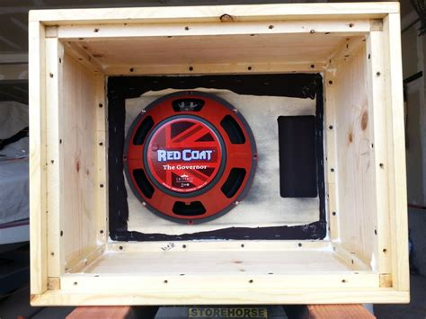 How To Build A Guitar Cabinet by Building A 1x12 Guitar Speaker Cabinet Toddfredrich