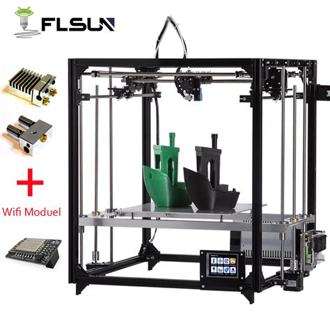 Keset Printing Panel 3 flsun 3d printer kit large printing area 260 260 350mm touch screen extruder aluminium