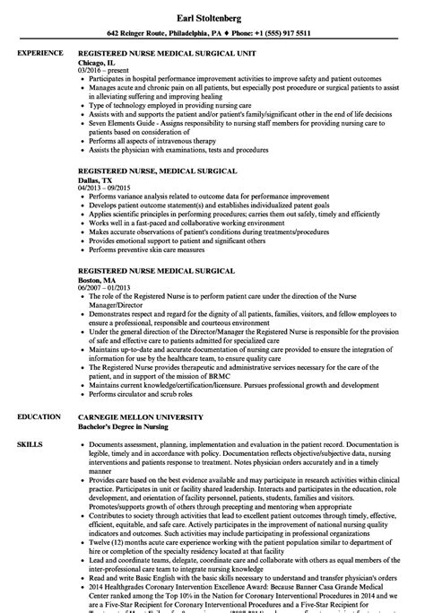mental health nurse cv hashdoc