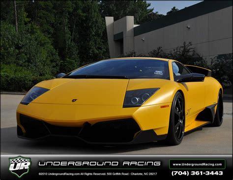 Modified Lamborghini Murcielago Lamborghini Turbo Sv Lp670 4 Underground Racing