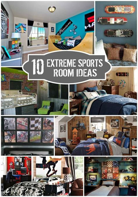 extreme sports bedroom ideas bedrooms boys and room