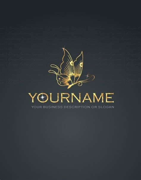 free logo design jewellery exclusive design jewel butterfly logo compatible free