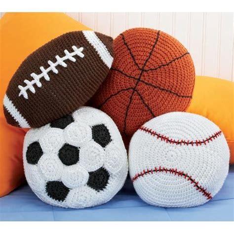 Crochet Football Pillow Pattern by Sports Crochet Crochet Toys Amugurumi