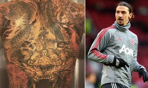 ibrahimovic full body tattoo ibrahimovic shows off stunning new back tattoo 102 3 max fm