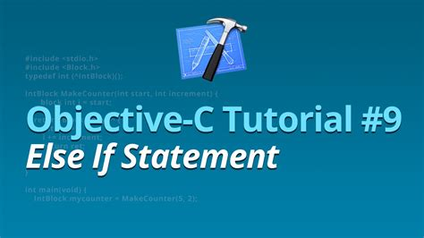 if statement objective c objective c tutorial 9 else if statement