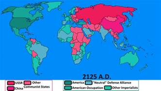 Cold War World Map by Cold War World Map Viewing Gallery