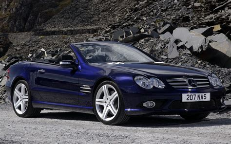 mercedes benz sl class amg styling uk wallpapers
