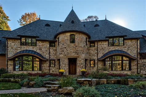 Home Design Remodeling Show by French Country Castle Traditional Exterior Other