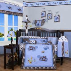 geenny crib cf 2052 sea turtle 13 pc baby bedding set