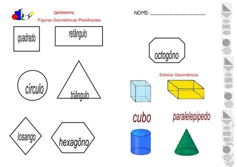 figuras geometricas solidos sequencia atividades matem 225 tica eixo geometria 4 186 5 186 ano