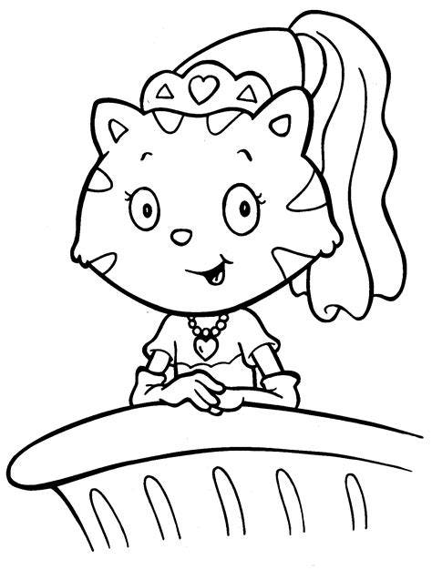 coloring pages of cute kittens cute kitten robot coloring page free printable gianfreda net