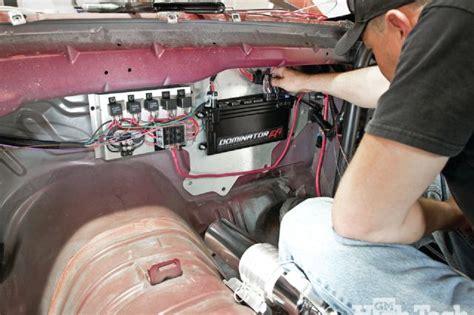 drag car wiring diagram
