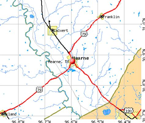 hearne texas map image gallery hearne tx