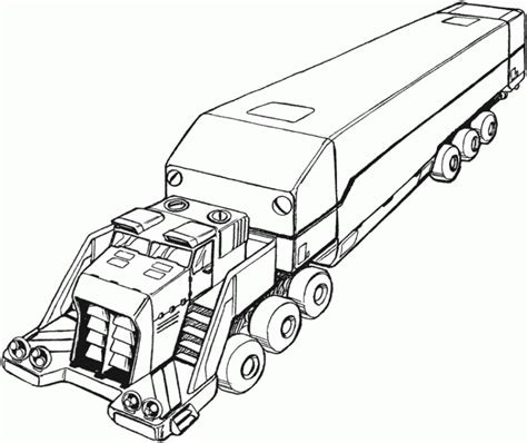 coloring page big truck big truck coloring pages coloring home