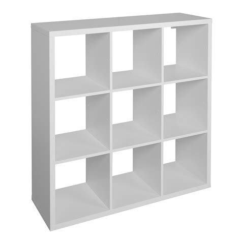 cube shelving units form mixxit white 9 cube shelving unit h 1080mm w 1080mm departments diy at b q