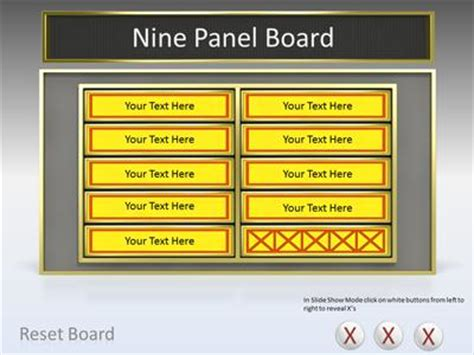 Game Show Tool Kit A Powerpoint Template From Presentermedia Com Show Ppt Template
