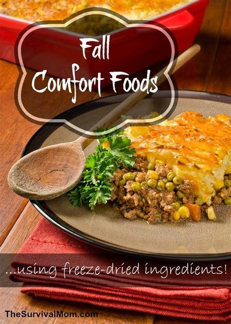 fall comfort foods fall comfort foods from augason farms the survival mom