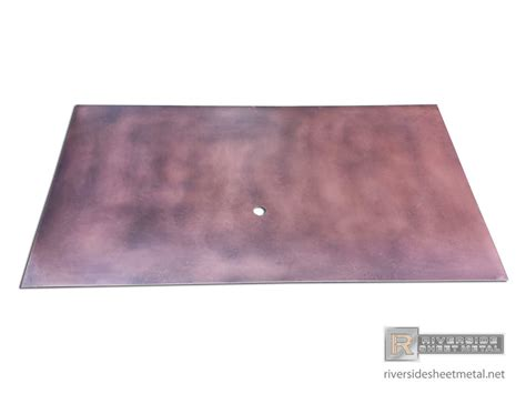 patina copper backsplash copper backsplash with patina custom shipped