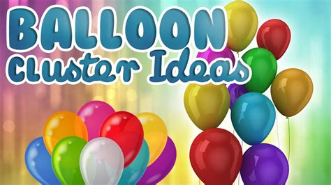 How to make a cluster with 5 balloons balloon cluster